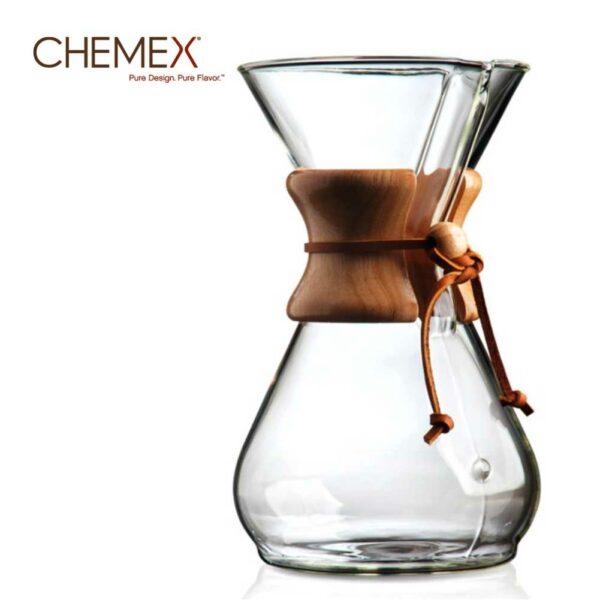 Chemex 6 Cup - Ahşap Tutacaklı