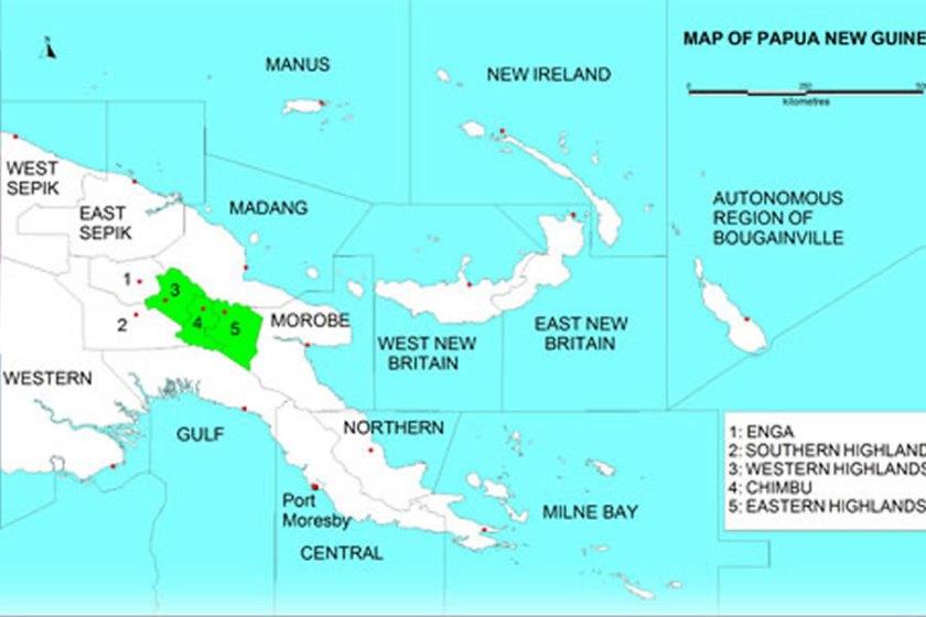 PNG Haritası
