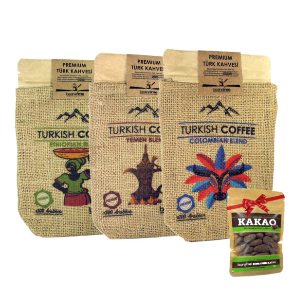 Türk kahvesi seti